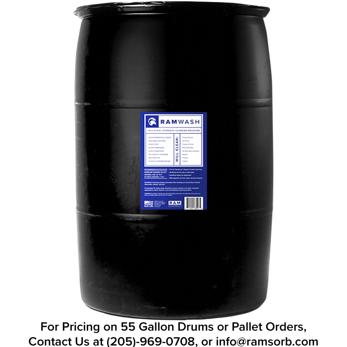 RamWash 55 Gallon Drum