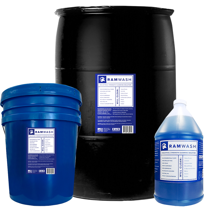 RamWash Industrial Strength Cleaning Solution