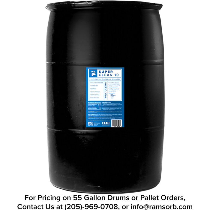 Super Clean 10 55 Gallon Drum