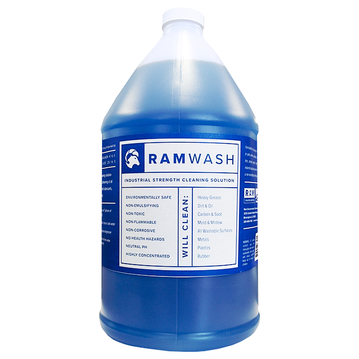 RamWash One Gallon Bottle