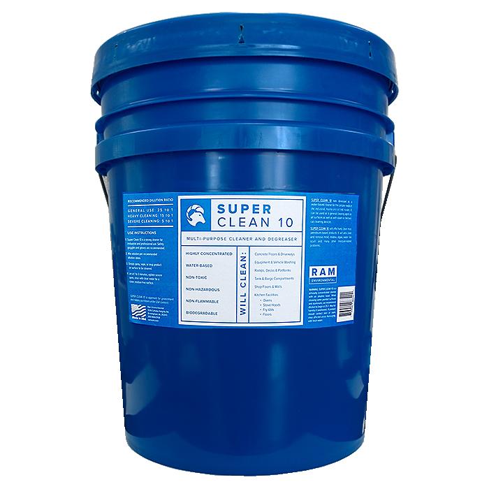 Super Clean 10 - 5 Gallon Pail
